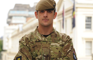 Corporal Sean Jones, 1st Battalion The Princess of Wales's Royal Regiment, is to receive a Military Cross