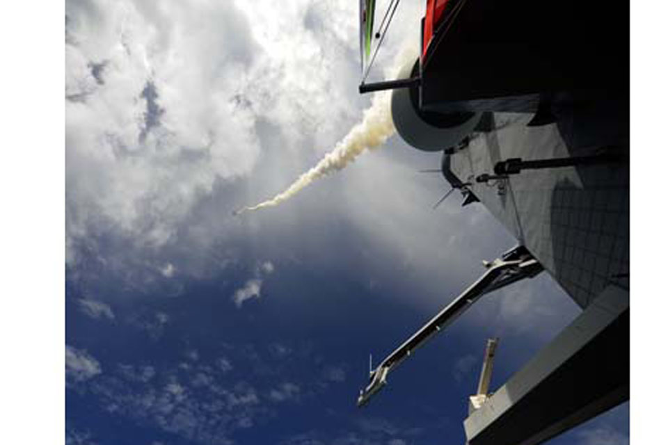 The Sea Viper missile itself is just one small component of the Principal Anti Air Missile System