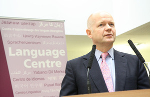 Language Centre opening