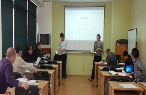 Training session with the Kosovo Customs