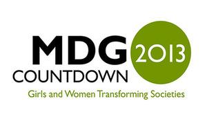 MDG Countdown 2013 logo
