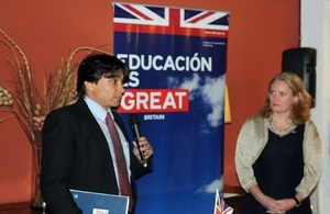 British Ambassador at Chevening farewell reception