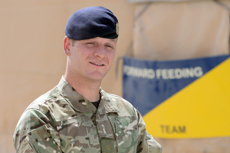 Staff Sergeant Adam Sinclair