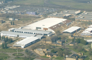 RAF Wyton- one of the key sites in the contract