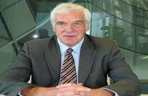 Governor designate Peter Beckingham