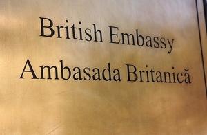 British Embassy Chisinau.