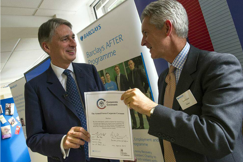 Philip Hammond and Stuart Tootal