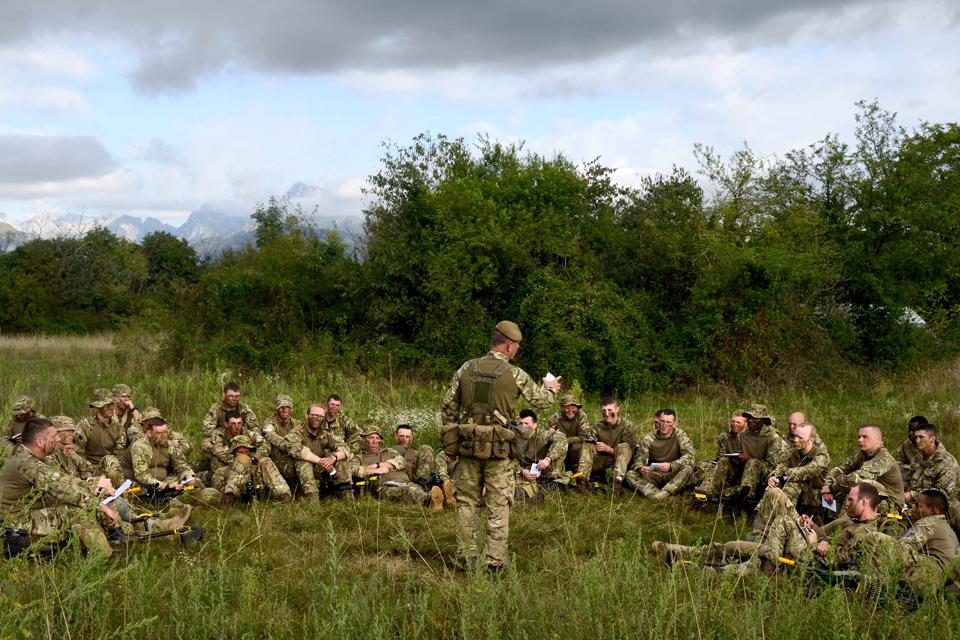 Military Team Building Drills