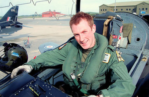 Flight Lieutenant Adam Sanders