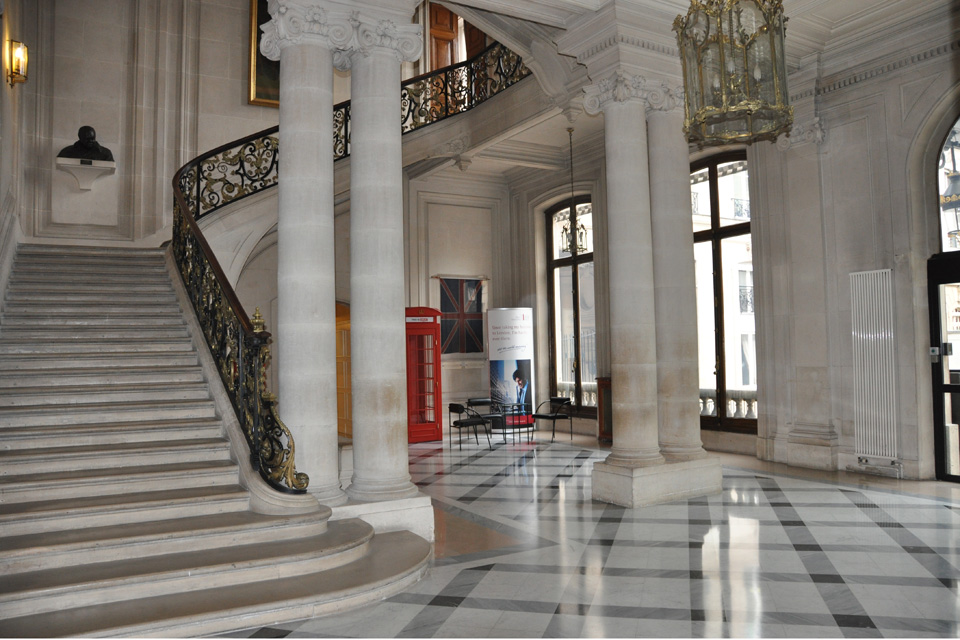 Kitchen cabinet us government - Hiring The British Embassy Premises In Paris Gov Uk