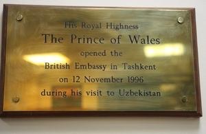 The British Embassy Tashkent