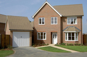 The new scheme will help Service personnel get on the property ladder [Picture: Crown copyright]