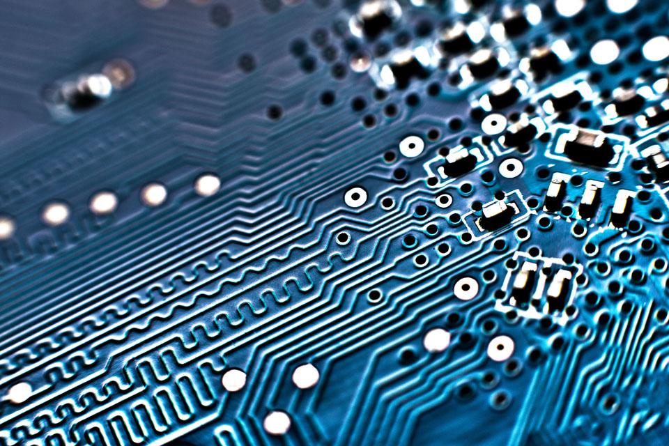 A computer circuit board (stock image)