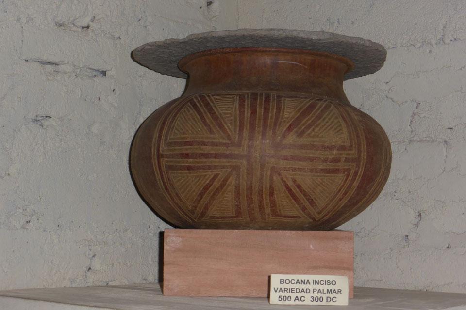 A pre-columbian vessel
