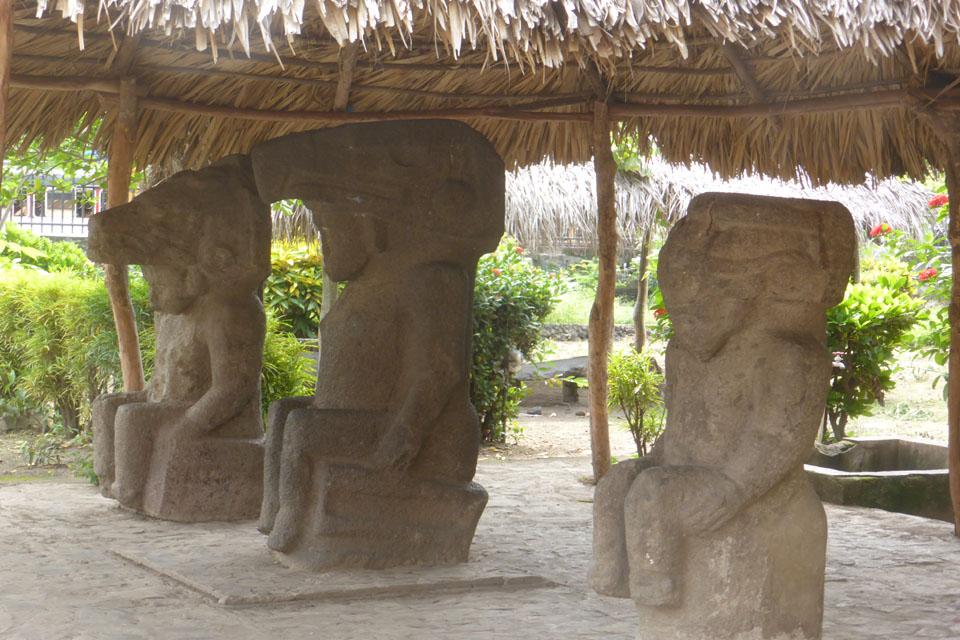 Indigeneous art from Ometepe