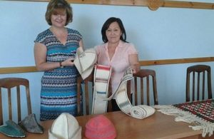 Mrs Beckett attends Karakalpakstan Branch of the Business Women's Association of Uzbekistan