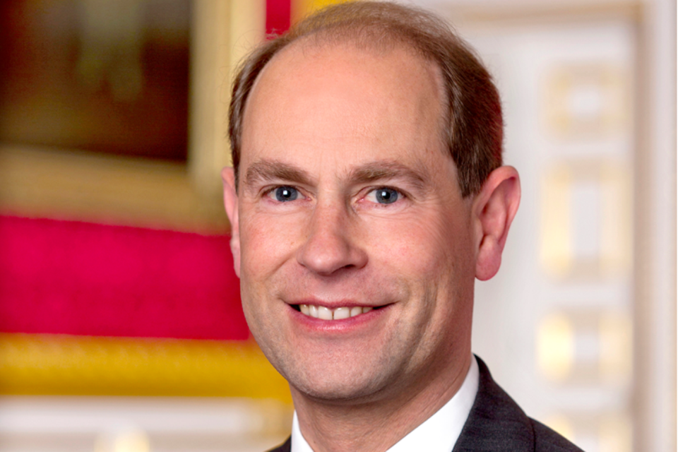 HRH Prince Edward Earl of Wessex visits Zambia