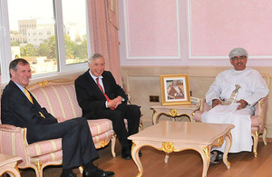 Lord Howe, Parliamentary Under Secretary of State for Health visit Oman