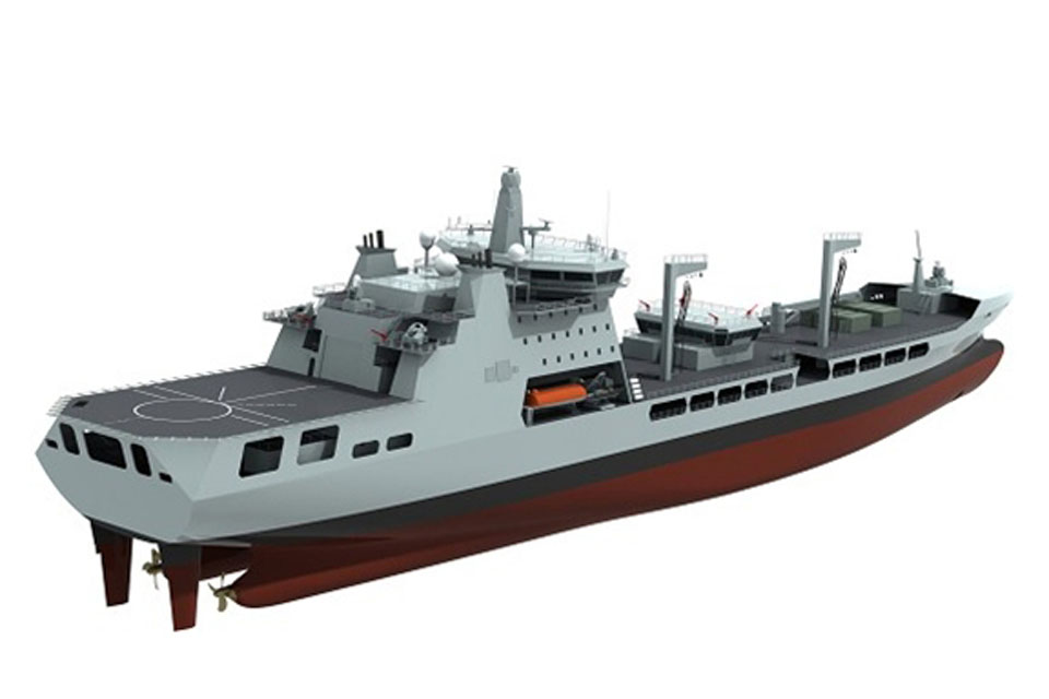 The new Tide Class Royal Fleet Auxiliary tankers will come into service from 2016