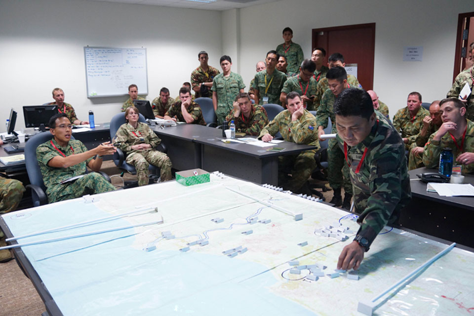 International planning at work during Exercise Suman Protector 12