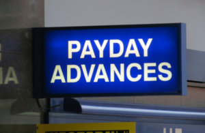payday advances sign