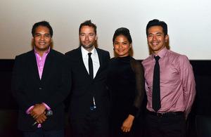 Cast of 'Metro Manila'
