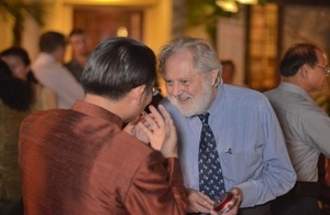 David Puttnam at Education Reception