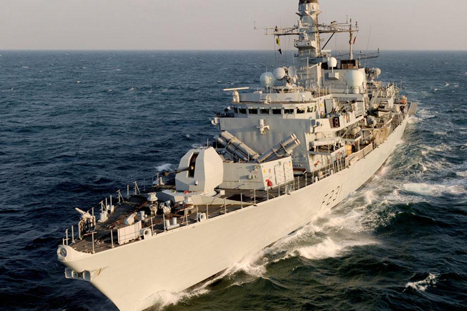HMS Argyll (stock image)