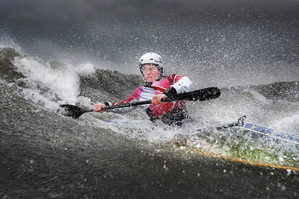 Best Professional Sport Image: 'Paddle Power'