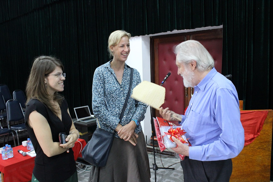 Lord Puttnam with Vientianale