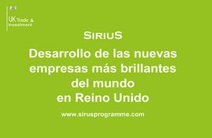 Nuevo programa Sirius para recién graduados.