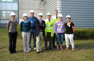CoRWM members visiting Sweden to see how they deal with their radioactive waste