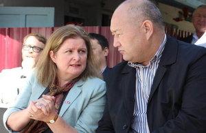 HM Ambassador visits Batken to review effectiveness of UK aid
