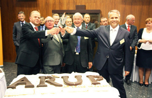 Celebration of ARUP's 15th anniversary in Poland