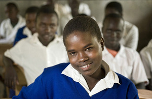 A student at Kacheliba School in the village of Kogolai, Kenya. Picture: Sven Torfinn/Panos