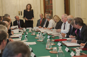 The Business Taskforce report is presented to Cabinet.