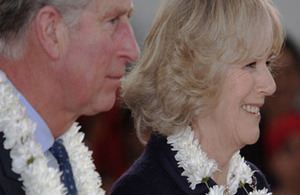 Their Royal Highnesses The Prince of Wales and The Duchess of Cornwall