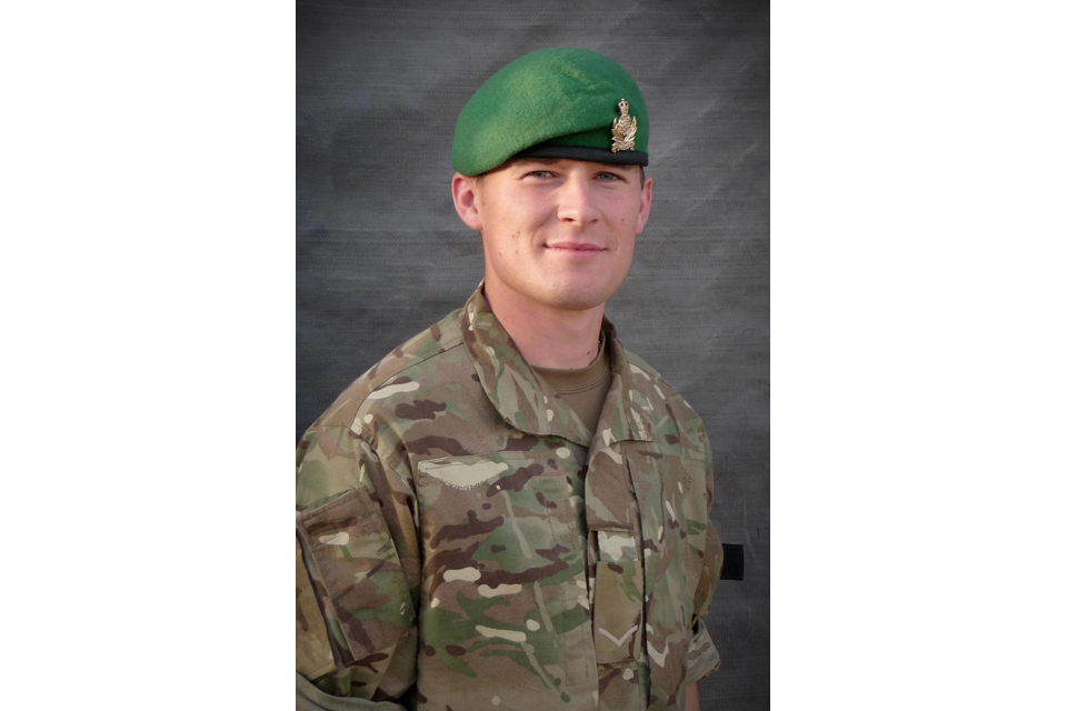 Lance Corporal James Brynin (All rights reserved.)