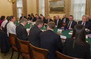 Joint Ministerial Committee meets in October 2013