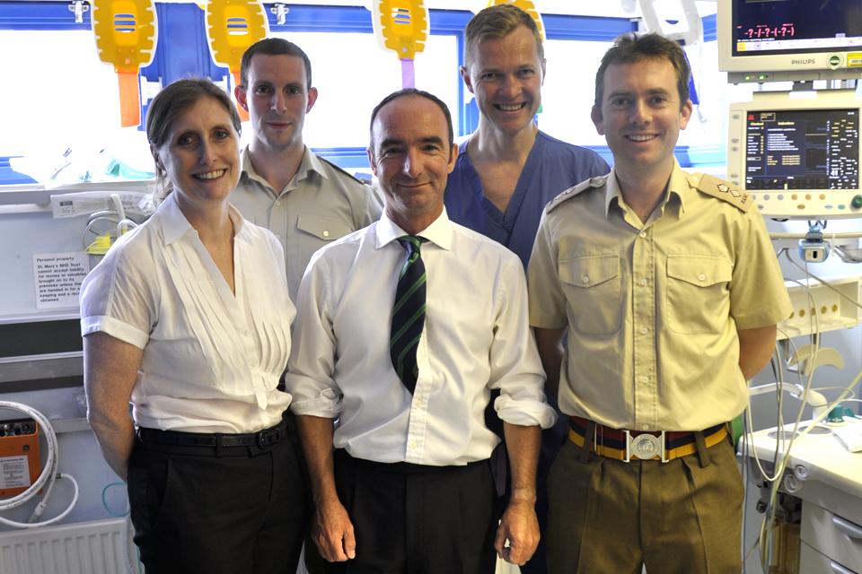 St Mary's Hospital's major trauma centre team