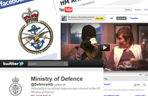 Official Defence social media channels