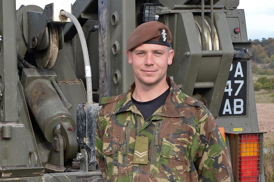 Corporal Mark Davis