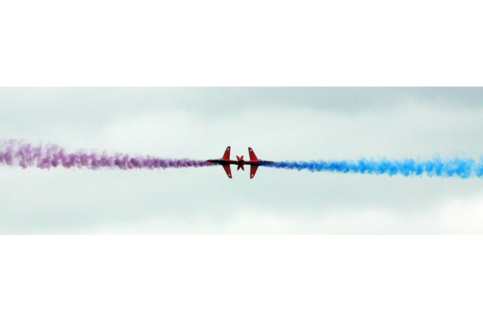 The Royal Air Force Aerobatic Team