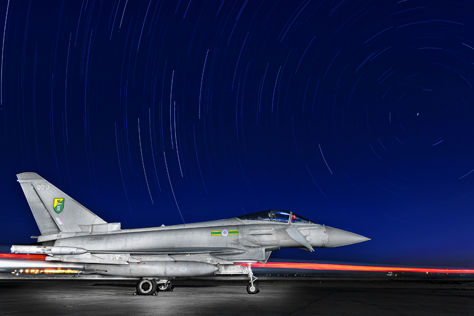 A 3 (Fighter) Squadron Typhoon