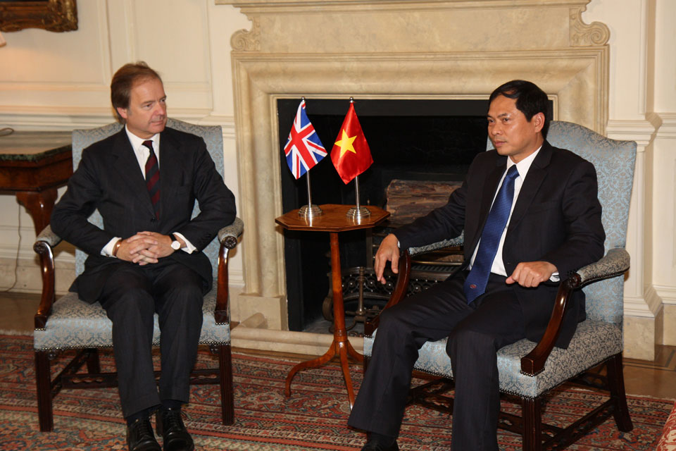 UK-Vietnam Strategic Dialogue meeting in London