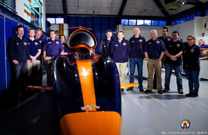 Bloodhound engineering team, with Corporal Lisah Brooking shown far right (library image) [Picture: Stefan Marjoram]
