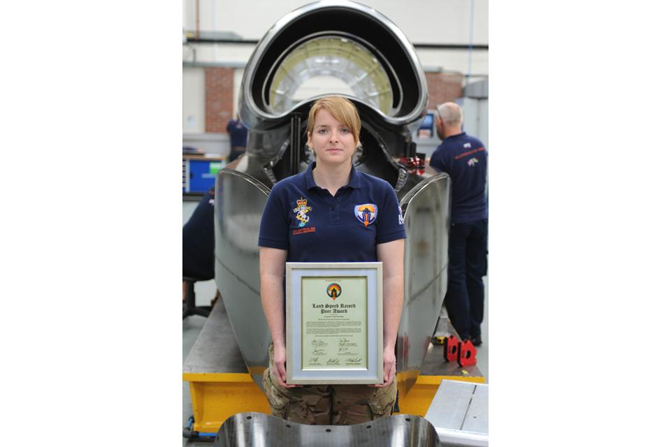 Corporal Lisah Brooking