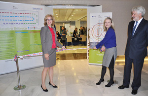 Feria de educación británica en Madrid