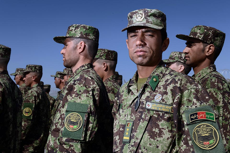 Afghan army officer academy welcomes first intake - News