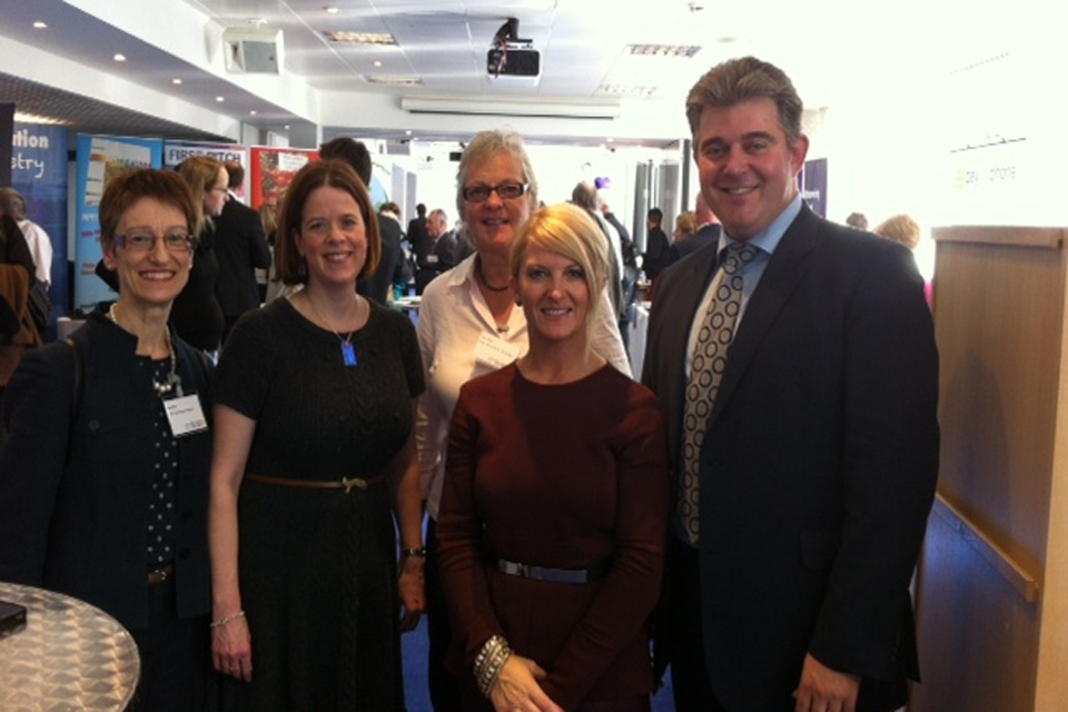 Brandon Lewis at the World Café event